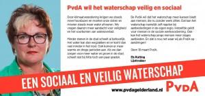 flyer waterschapsverkiezingen