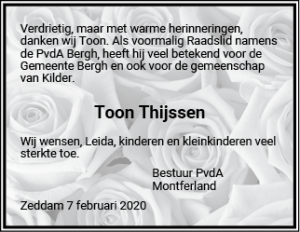https://montferland.pvda.nl/nieuws/in-memoriam-toon-thijssen/